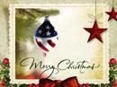 Patriotic Christmas Christmas eCards