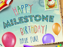 Happy Milestone Birthday Personalized Birthday eCards