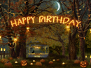 Enchanting Birthday Halloween eCards