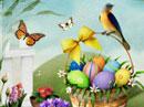 Easter Garden Easter eCards