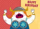 The Fat Lady Sings Birthday eCards