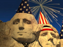 Monumental Birthday Independence Day eCards