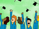 Hats Off to the Grad Graduation eCards