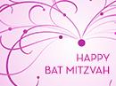 Happy Bat Mitzvah Anytime eCards