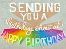 Lloyd Williams' 'Shout' Birthday Birthday eCards