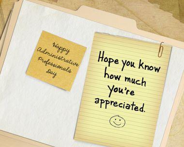 You're So Appreciated