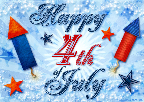 Happy fourth of july greetings happy 4th of july independence day ecard blue m4hsunfo