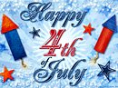 Happy 4th of July! Postcard Independence Day eCards