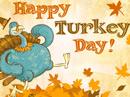 Turkey Day Postcard Thanksgiving Postcards