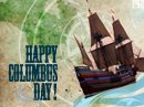 Columbus Day Postcard Columbus Day eCards