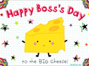 Boss's Day Postcard Boss's Day eCards
