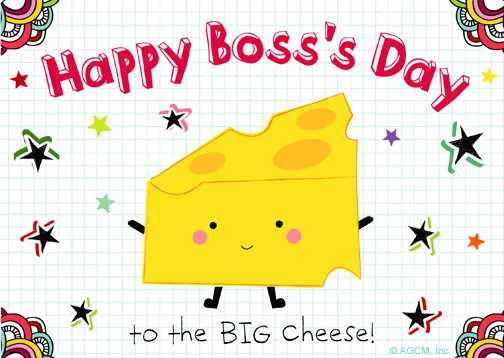 Fabulous image inside free printable boss's day cards