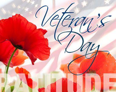 Veteran's Day Gratitude