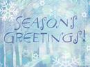 Season's Greetings Postcard Season's Greetings Postcards