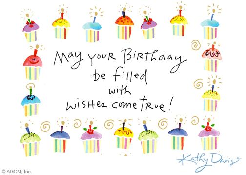 """Cupcake Wishes Kathy Davis"""