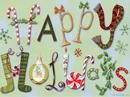Happy Holidays! Postcard Season's Greetings Postcards