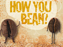 How You Bean? Just Because Postcards