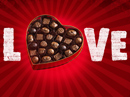 Chocolate Day Postcard Valentine's Day Postcards