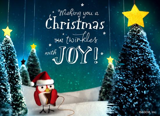 Christmas Twinkle (Postcard) - Christmas Ecard | American ...