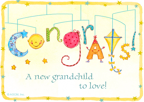 """Grandchild Congrats"" 