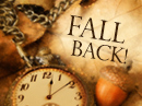 Daylight Savings Fall Back 11/1/20 Holidays eCards