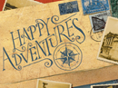 Happy Adventures Postcard Travel eCards
