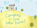 New Home Postcard Just Because eCards