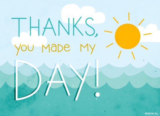 Day-Maker - Anytime Thank You Ecard | American Greetings