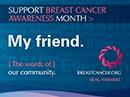 BC Breast Cancer Awareness Postcard Postcards