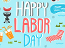 Happy Labor Day Postcard Labor Day eCards