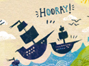 Hooray Columbus! Postcard Columbus Day eCards