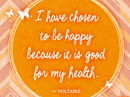 Be Happy Quote Postcards
