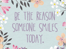 Be the Reason Quote Postcards