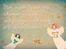Angels Fly Quote Postcards