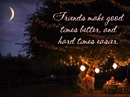 Power of Friends Quote Postcards