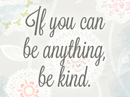 Be Kind Quote Postcards