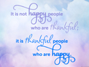 Thankful People Quote Postcards