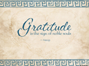 Grateful Quote Postcards