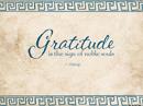 Grateful Quote Postcards