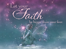 Your Faith Quote Postcards