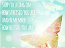 You are Blessed Quote Postcards