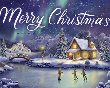 Merry Christmas Reply Card