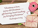 Merry Old Christmas Quote Christmas Postcards