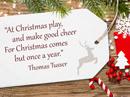 Christmas Games Quote Christmas Postcards