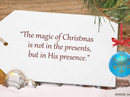 Spiritual Christmas Quote Christmas Postcards