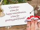 Christmas Greetings Quote Christmas Postcards