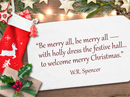 Christmas Decorations Quote Christmas Postcards