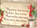 Relaxing Christmas Quote Christmas Postcards