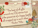 Best Christmas Gift Quote Christmas Postcards