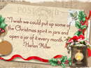 Christmas Spirit Quote Christmas Postcards